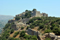 The fortress of the Crusaders stock image