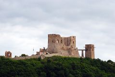 Fortress, Csesznek, Hungary Royalty Free Stock Photography