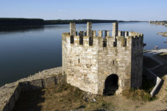 The fortress on the Danube Stock Photography