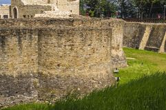 Fortress Defensive Wall royalty free stock images