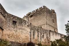 Fortress detail. Detail of an ancient fortress in the city of Grottaglie, in the south of italy Stock Photography