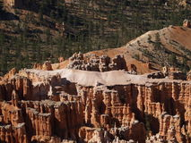 The Fortress. Detail of the fortress on the floor of Bryce Canyon, Utah, showing the effects of eons of erosion Stock Photo