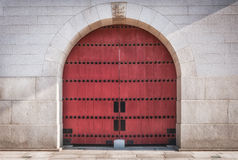 Fortress Door Stock Photography