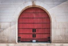 Fortress Door Stock Photography