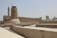 Fortress in  dubai Royalty Free Stock Images