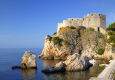 Fortress in Dubrovnik Stock Images