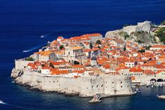 Fortress Dubrovnik, Croatia Royalty Free Stock Photography