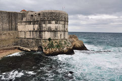 Fortress of Dubrovnik Royalty Free Stock Photography