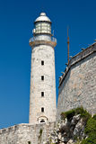 Fortress of El Morro in Havana, Cuba Stock Images