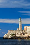 Fortress of El Morro in Havana, Cuba Royalty Free Stock Photography