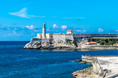 The fortress of El Morro in Havana, Cuba Stock Photo