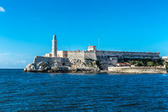 The fortress of El Morro in Havana, Cuba Stock Photography