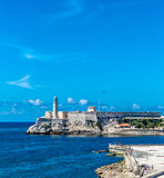 The fortress of El Morro in Havana, Cuba Stock Image