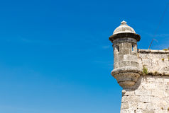The fortress of El Morro in Havana, Cuba Royalty Free Stock Image