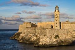 Fortress El Morro, Havana, Cuba stock photography