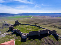 Fortress Enisala in Dobrogea, Romania Tulcea county Royalty Free Stock Image