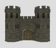 Fortress entrance Royalty Free Stock Photography