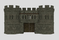 Fortress entrance Royalty Free Stock Images