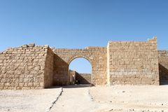 Fortress Entrance Gate Stock Photography