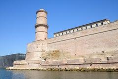 Fort Saint-Jean in Marseille stock photos