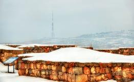 Fortress Erebuni in Yerevan Stock Images