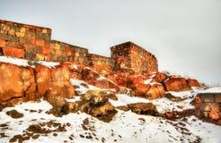 Fortress Erebuni in Yerevan Royalty Free Stock Photography