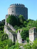 Fortress of Europe. The Fortress of Europe on the  Bosphorus, Istanbul Stock Images