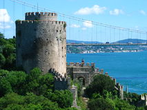 Fortress of Europe. The Fortress of Europe on the  Bosphorus, Istanbul Royalty Free Stock Photography