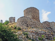 Fortress in Feodosiya Stock Image