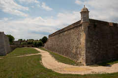 The fortress of Figueres Catalonia stock images