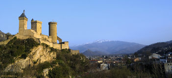 Fortress of Foix Stock Photos
