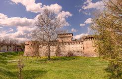 Fortress of Forlì, Emilia Romagna, Italy Royalty Free Stock Image