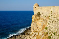 Fortress Fortezza in city of Rethymno Royalty Free Stock Images