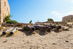 Fortress of Fortezza. Rethymnon. Crete. Greece. Stock Photography