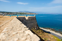 Fortress of Fortezza. Rethymnon. Crete. Greece. Stock Images