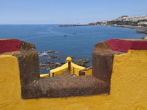 Fortress in Funchal Royalty Free Stock Photography