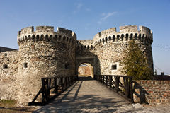 Fortress gate Royalty Free Stock Photos