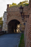 Fortress gate of Kalemegdan Stock Image