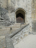 Fortress gate and walls Royalty Free Stock Photo