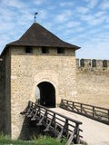 Fortress gates Stock Images