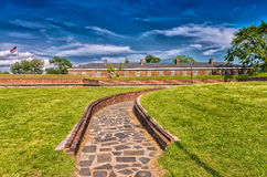 Fortress on Governor's Island, New York Stock Images