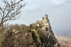Fortress of Guaita, San Marino Stock Photo