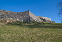Fortress in Halden (South curtain wall) Stock Images