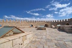 The fortress at Heraklion Stock Photos