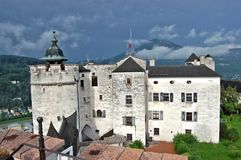 Fortress Hohensalzburg Stock Photography