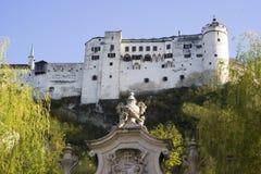 Fortress Hohensalzburg - Salzburg, Austria Royalty Free Stock Images