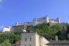 Fortress Hohensalzburg. In Salzburg, Austria Stock Image