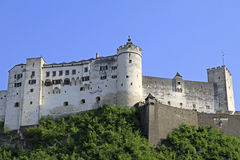 Fortress Hohensalzburg. In Salzburg, Austria Royalty Free Stock Image