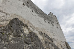 Fortress Hohensalzburg in Salzburg, Austria. Royalty Free Stock Photography