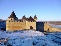 fortress hotyn ukraine western Стоковые Изображения RF